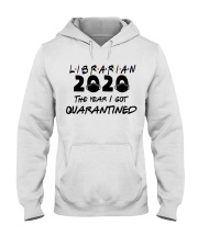 LIBRARIAN Hooded Sweatshirt thumbnail