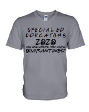 SPED EDUCATORS V-Neck T-Shirt thumbnail