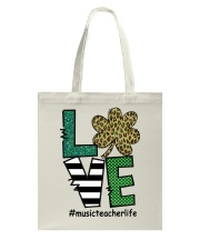 MUSIC LIFE LUCK Tote Bag thumbnail