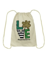 MUSIC LIFE LUCK Drawstring Bag thumbnail