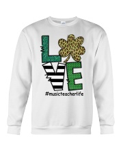 MUSIC LIFE LUCK Crewneck Sweatshirt thumbnail