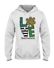 MUSIC LIFE LUCK Hooded Sweatshirt thumbnail