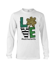 MUSIC LIFE LUCK Long Sleeve Tee thumbnail