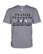 5TH GRADE  V-Neck T-Shirt thumbnail