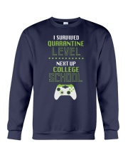 COLLEGE SCHOOL LEVEL Crewneck Sweatshirt thumbnail