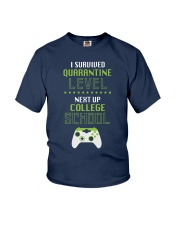 COLLEGE SCHOOL LEVEL Youth T-Shirt front