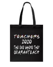 TEACHERS QUARANTEACH Tote Bag thumbnail