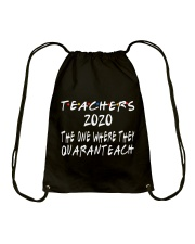 TEACHERS QUARANTEACH Drawstring Bag thumbnail