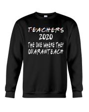 TEACHERS QUARANTEACH Crewneck Sweatshirt thumbnail