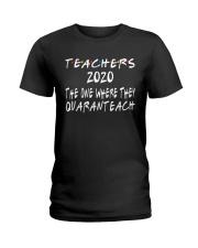 TEACHERS QUARANTEACH Ladies T-Shirt thumbnail