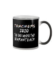 TEACHERS QUARANTEACH Color Changing Mug thumbnail