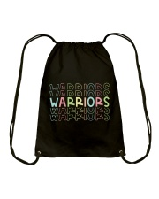 WARRIOR RAINBOW Drawstring Bag thumbnail