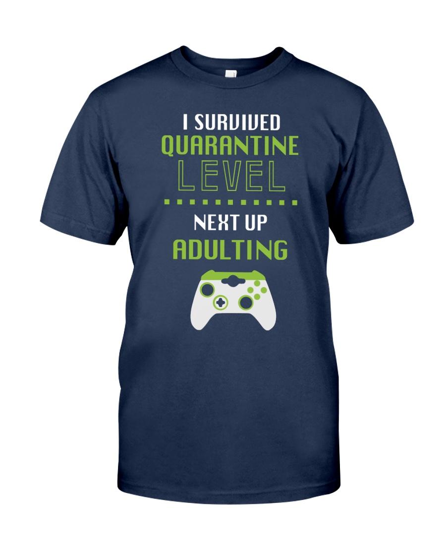 ADULTING LEVEL Classic T-Shirt