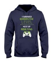 ADULTING LEVEL Hooded Sweatshirt thumbnail