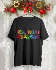 SPECIAL EDUCATION TEACHER DESIGN Classic T-Shirt lifestyle-holiday-crewneck-front-2