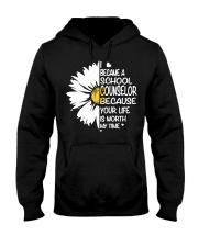 BECAME SCHOOL COUNSELOR Hooded Sweatshirt thumbnail