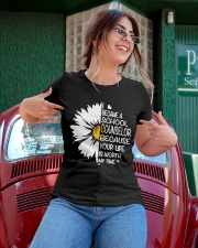 BECAME SCHOOL COUNSELOR Ladies T-Shirt apparel-ladies-t-shirt-lifestyle-01