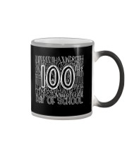 100TH DAY OF SCHOOL Color Changing Mug thumbnail