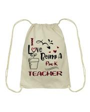 PRE-K TEACHER Drawstring Bag thumbnail