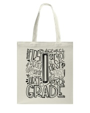 FIRST GRADE TYPO Tote Bag tile