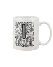 FIRST GRADE TYPO Mug tile
