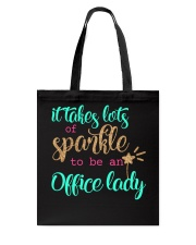 OFFICE LADY SPARKLE Tote Bag thumbnail