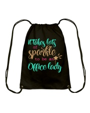 OFFICE LADY SPARKLE Drawstring Bag thumbnail