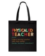 PE TEACHER DEFINITION Tote Bag thumbnail