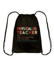 PE TEACHER DEFINITION Drawstring Bag thumbnail