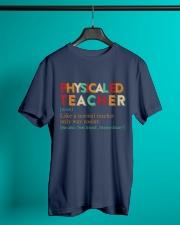 PE TEACHER DEFINITION Classic T-Shirt lifestyle-mens-crewneck-front-3