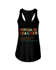 PE TEACHER DEFINITION Ladies Flowy Tank thumbnail