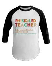 PE TEACHER DEFINITION Baseball Tee thumbnail