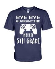 HELLO 5TH GRADE V-Neck T-Shirt thumbnail