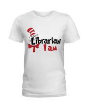 LIBRARIAN I AM Ladies T-Shirt thumbnail