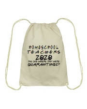 HOMESCHOOL 2020 Drawstring Bag thumbnail