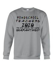 HOMESCHOOL 2020 Crewneck Sweatshirt thumbnail