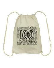 100TH DAY OF SCHOOL Drawstring Bag thumbnail