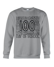 100TH DAY OF SCHOOL Crewneck Sweatshirt thumbnail