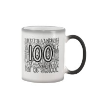 100TH DAY OF SCHOOL Color Changing Mug thumbnail