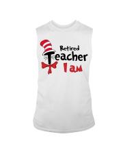 RETIRED TEACHER I AM Sleeveless Tee thumbnail