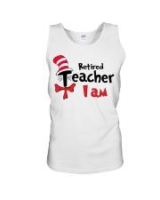 RETIRED TEACHER I AM Unisex Tank thumbnail