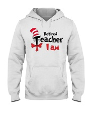 RETIRED TEACHER I AM Hooded Sweatshirt thumbnail