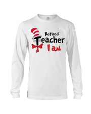 RETIRED TEACHER I AM Long Sleeve Tee thumbnail