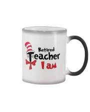 RETIRED TEACHER I AM Color Changing Mug thumbnail