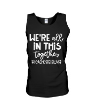 WE ARE ALL IN THIS TOGETHER Unisex Tank thumbnail
