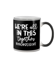 WE ARE ALL IN THIS TOGETHER Color Changing Mug thumbnail