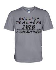 ENGLISH V-Neck T-Shirt thumbnail