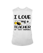 BEING A TEACHER OF TINY HUMANS Sleeveless Tee thumbnail