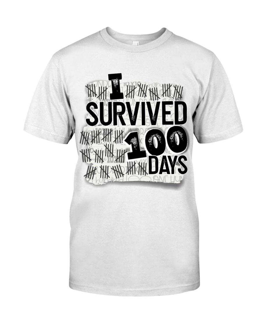 I SURVIDED 100 DAYS Classic T-Shirt