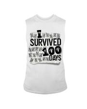 I SURVIDED 100 DAYS Sleeveless Tee thumbnail